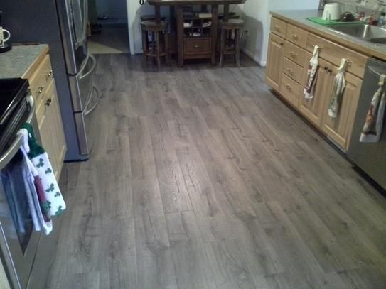 Pergo Outlast Vintage Pewter Oak 10 Mm Thick X 7 1 X2f 2 In Wide X 47 1 X2f 4 In Length Laminate Flooring 1 Flooring Wood Floors Wide Plank Pergo Outlast