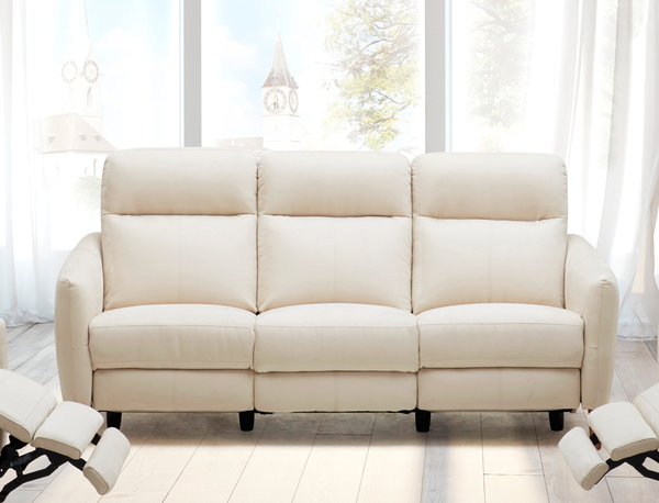 Excellent Power Reclining Sofa With Crisp Tailoring And Wood Legs You Short Links Chair Design For Home Short Linksinfo