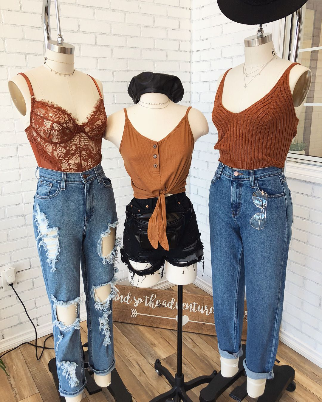 Rust Olive Or Black Ootdfash Everything Available Roupas