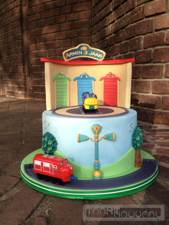 Chuggington Cake All styles of cakes Pinterest Chuggington