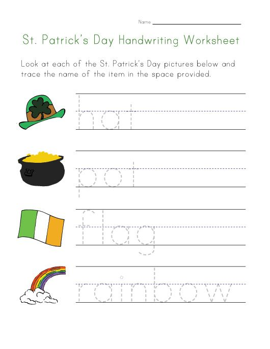 St. Patrick&#39s Day Crafts for Kids - Enchanted Learning Software