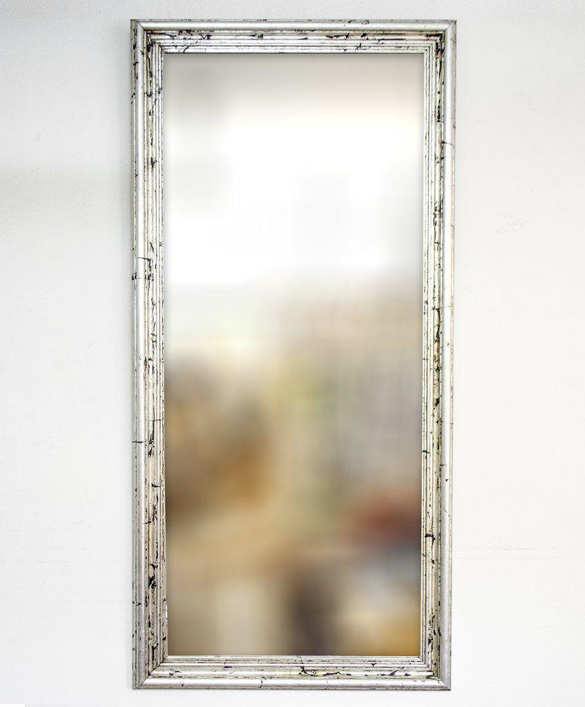 Espejo con Marco Plateado | Espejos | Pinterest | Espejos con marco ...
