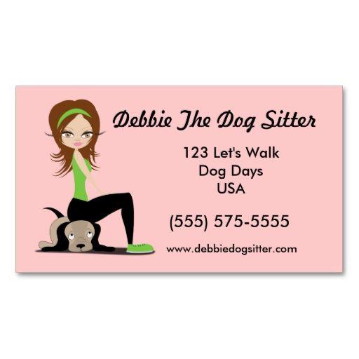Pin On Animal Pet Care Business Card Templates