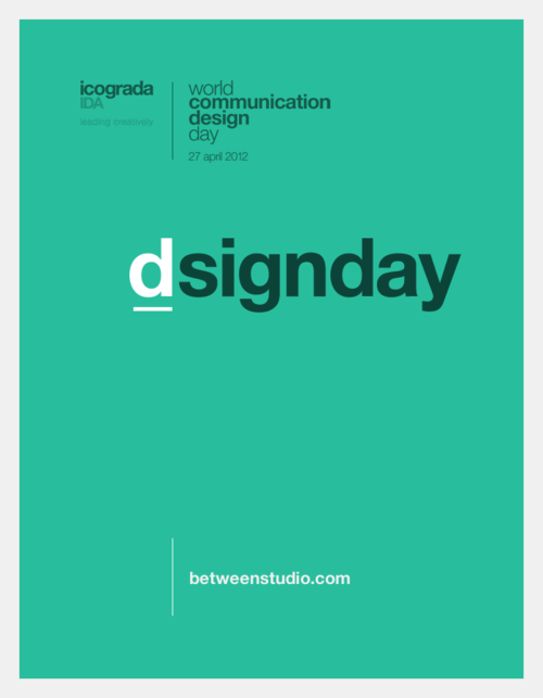 #world #graphic #design #day #poster #icograda #between