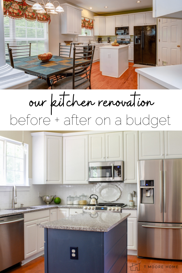 Budget Kitchen Makeover In Three Stages T Moore Home Design