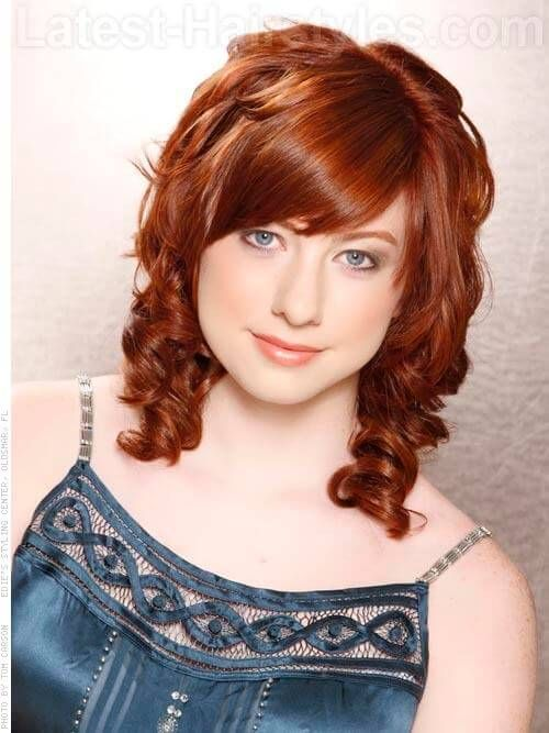 Deep Copper Hair Color with Light Copper Highlights ...