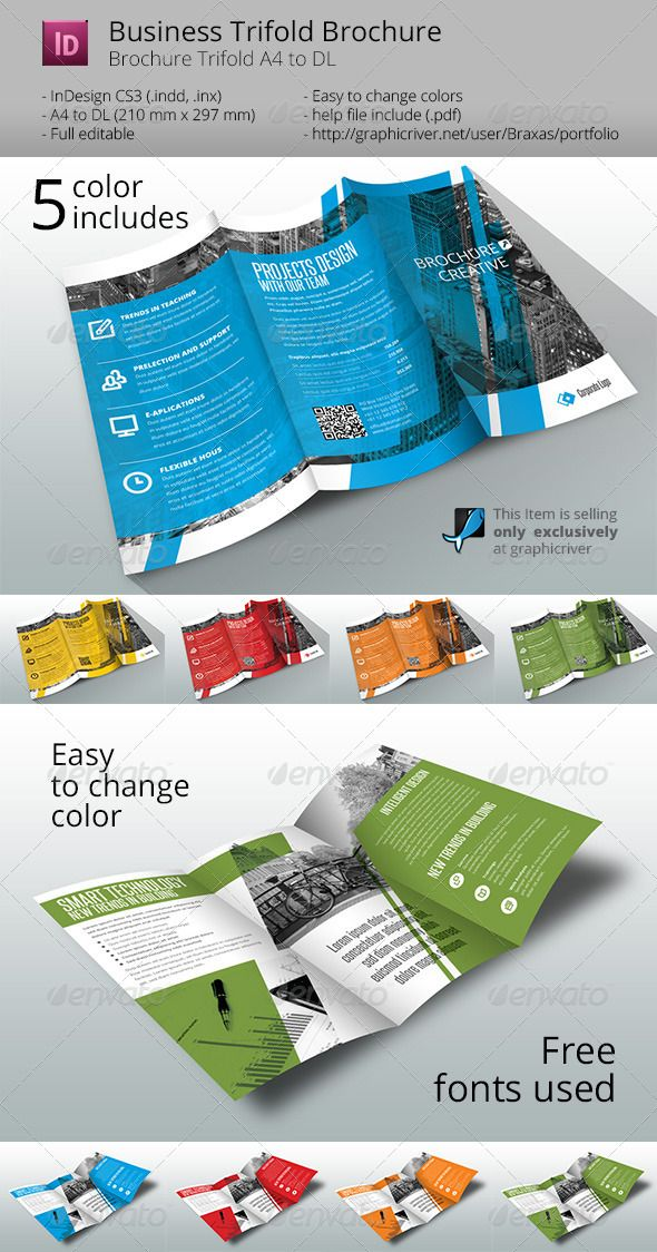 business brochure trifold business brochure brochures and template