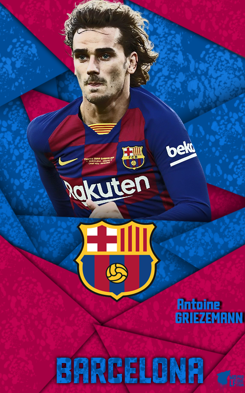 Antoine Griezmann Lockscreen Griezmann Equipo De Barcelona Fotos De Futbol