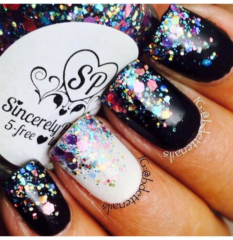 New Years nails | Beauty and health | Pinterest | Makeup, Hair ...