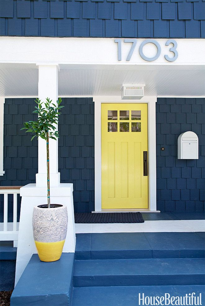 blue and yellow coastal entry & blue and yellow coastal entry | For the Home | Pinterest | Door ... Pezcame.Com