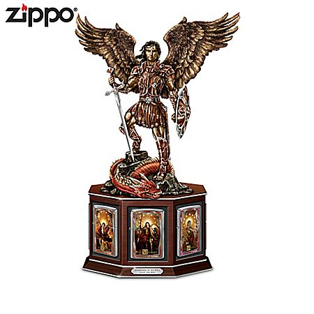 Guardians Of His Will Archangel Michael Zippo Lighter Collection