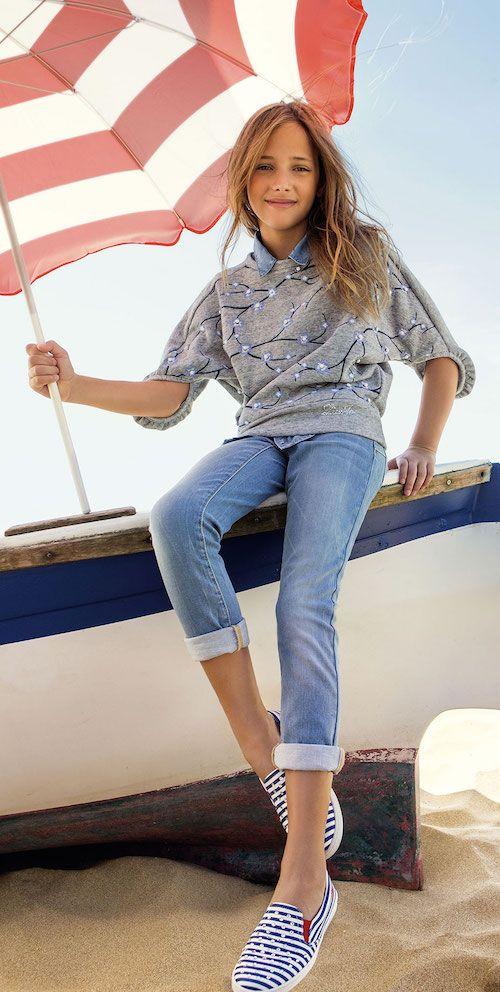 Zapatos azules formales Liu Jo Junior para mujer XmaMMp