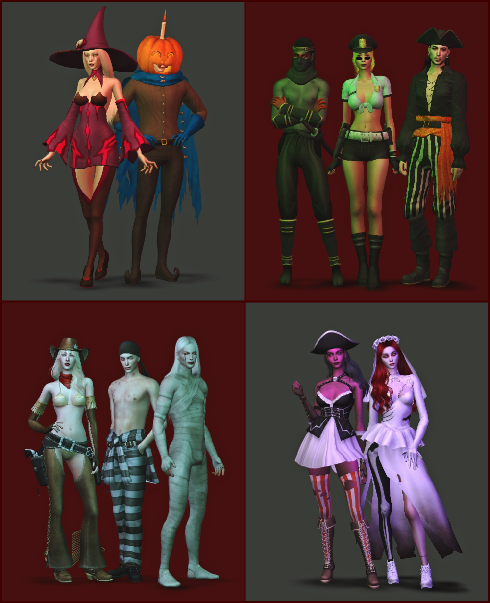 Halloween Sims 4 Cc 2020 Patreon in 2020 | Sims costume, Sims 4 anime, Sims 4 cc eyes