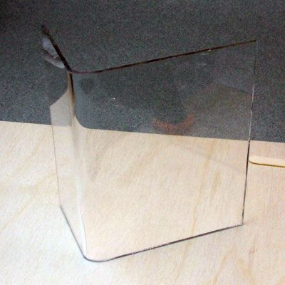 Bend Sheet Acrylic Or Plexiglass For Crafts Using Simple Tools Miniatures Miniature Diy Plexiglass