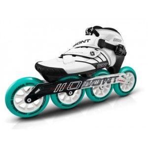 Bont Z Inline Speed Skate White Black 3 Point Inline Speed