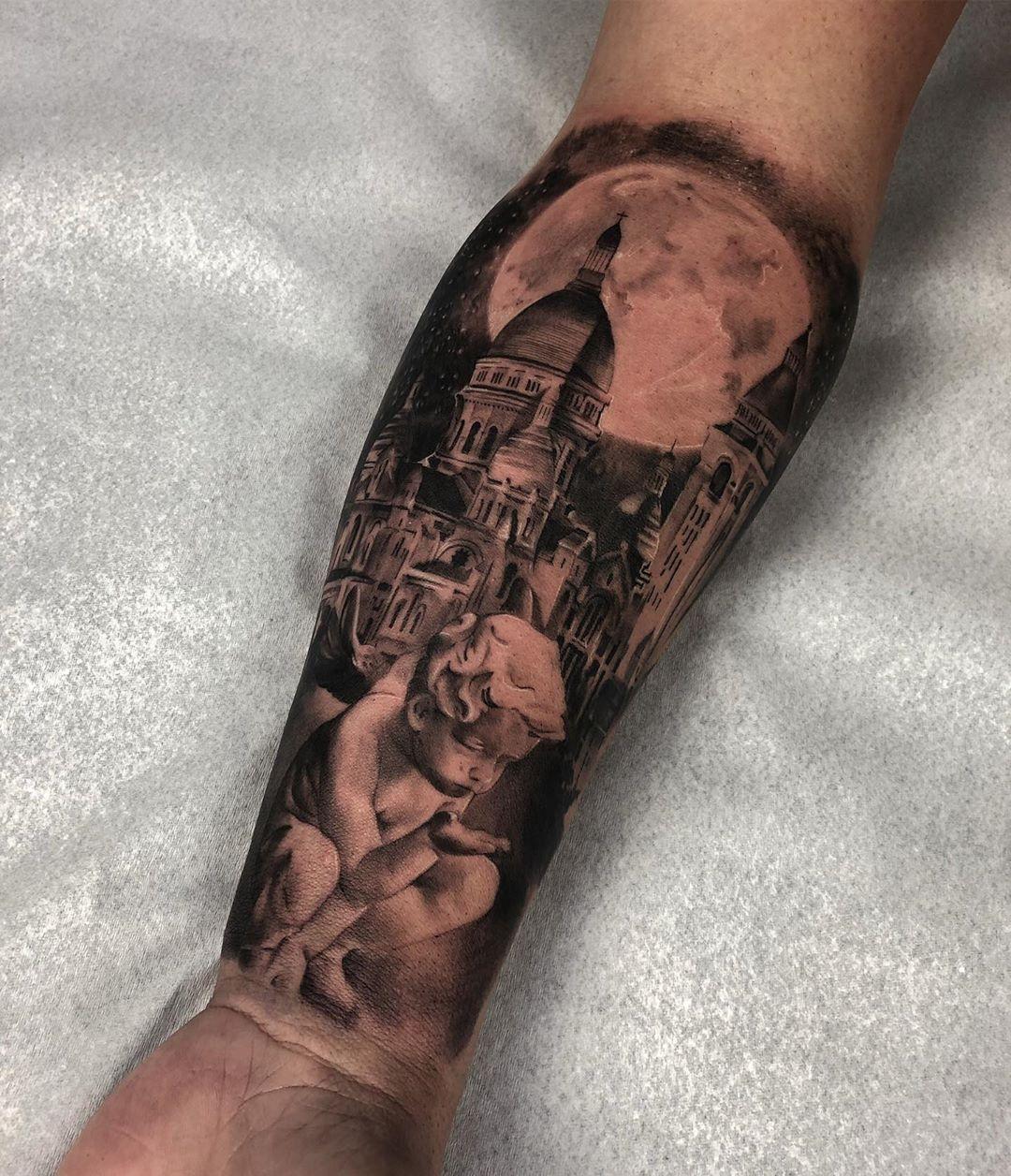 Tatuagem Criada Pelo Artista Ddierre Botelho De Goiania Clique