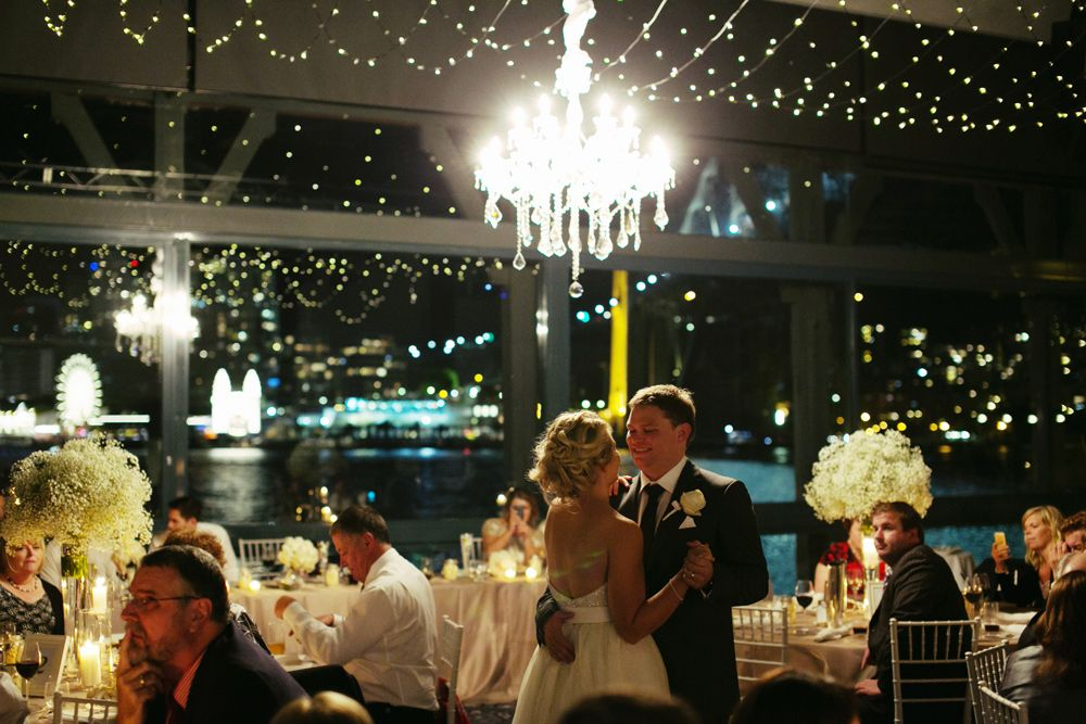 We Are In Love With This Absolutely Gorgeous Picture Of Ashleigh Ben Who Had Their Wedding Reception Our Water One On The September