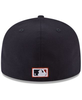 new style 678c7 c20af New Era Detroit Tigers Ultimate Patch Collection World Series 2.0 59Fifty  Fitted Cap - Blue 7 1 4