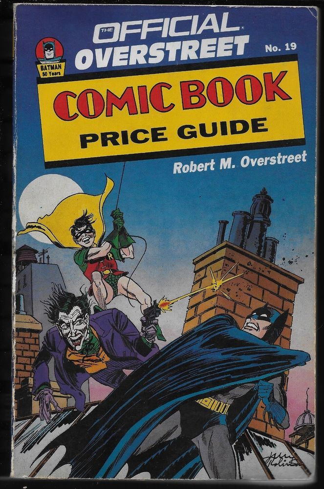 Official Overstreet Comic Book Price Guide #19 SC 1989 House of ...