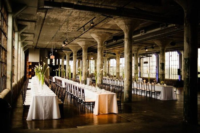 The Loft Wedding Due To Large Nature Of Most Es They Are Ideal