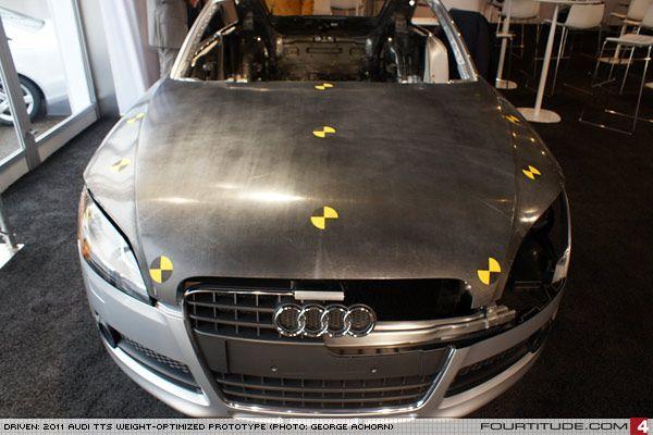 Audi Tt Carbon Fiber Hood Prototype Photo By Audi Ag