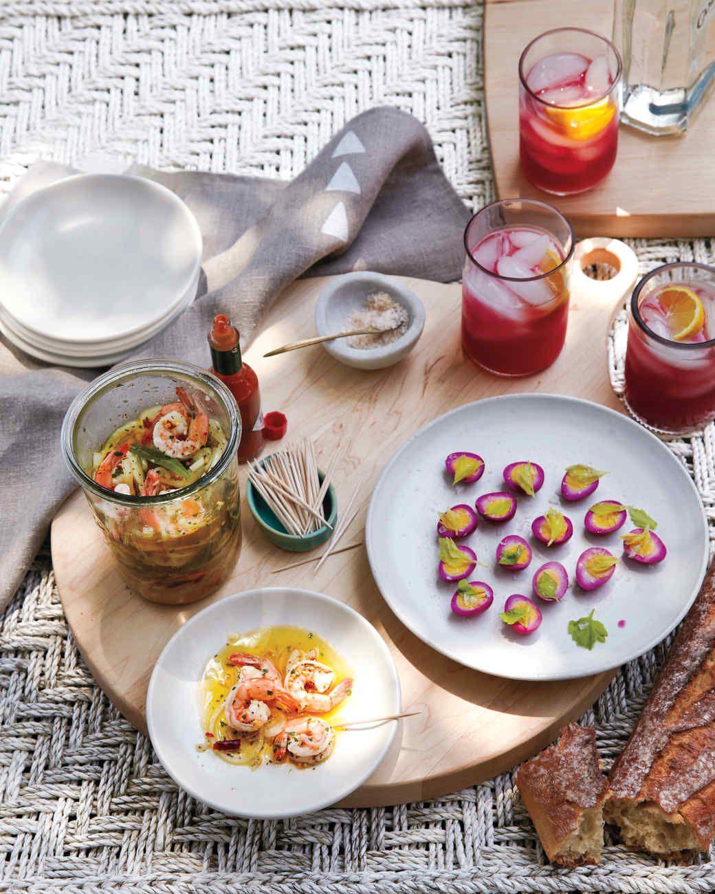 Pickled Shrimp Recipe, Food