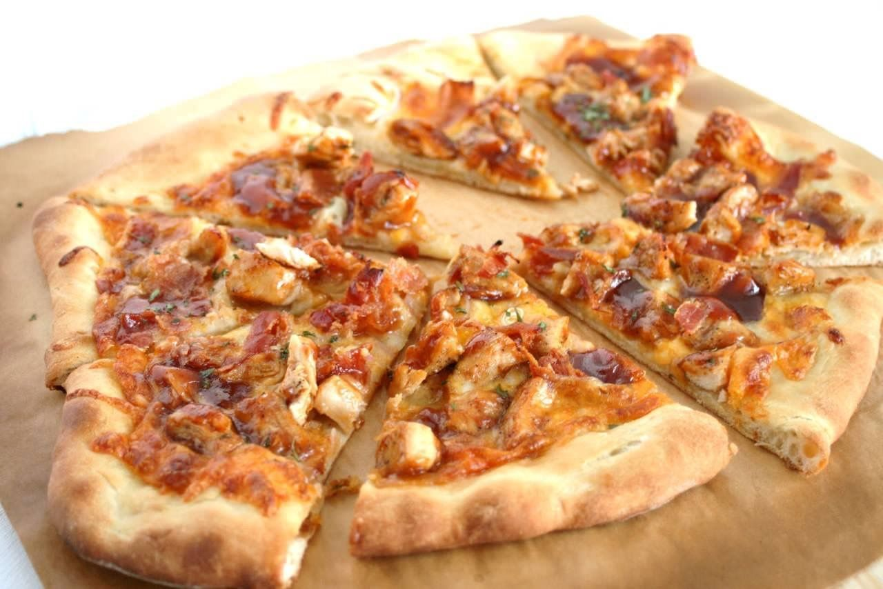 recipe: bbq chicken pizza recipe bobby flay [36]