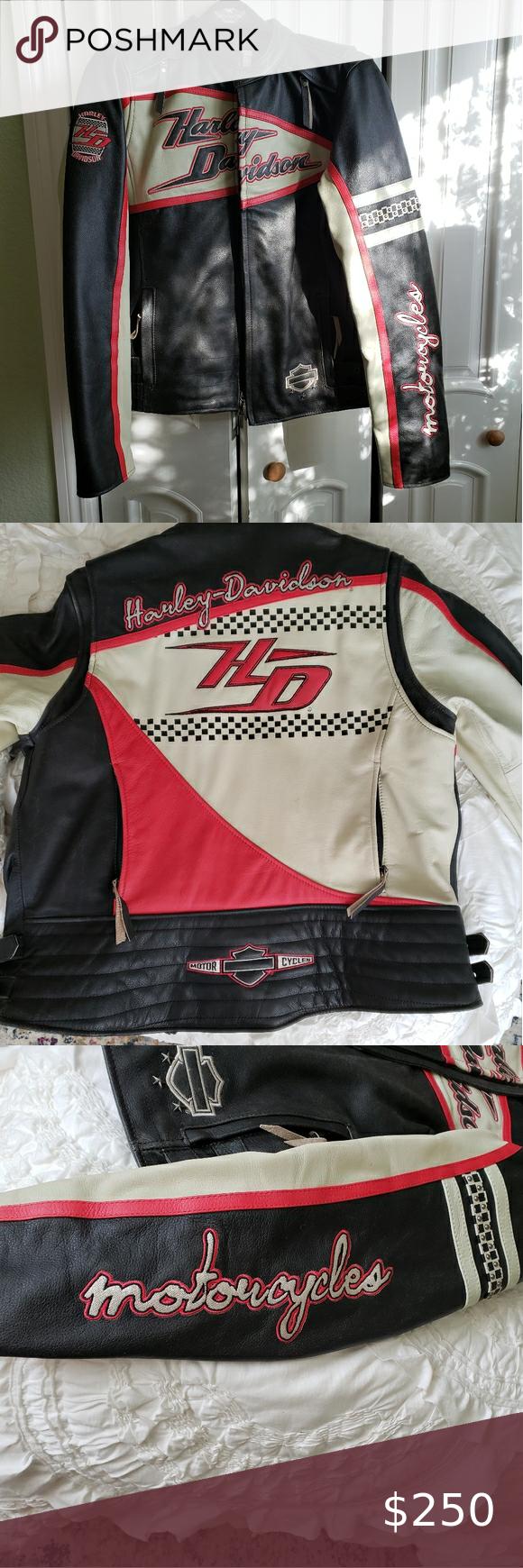 Womens Harley Davidson Dash Leather Jacket in 2020 ...