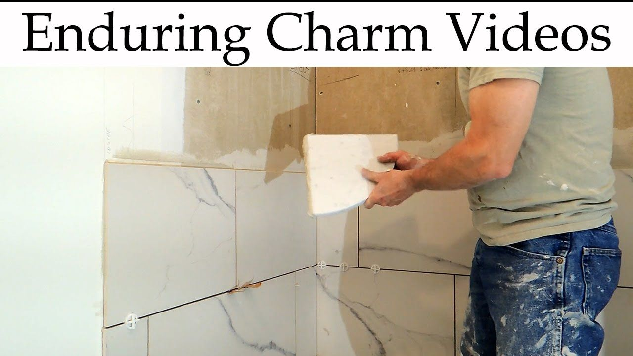 Tiled Shower Start To Finish Youtube With Images Shower
