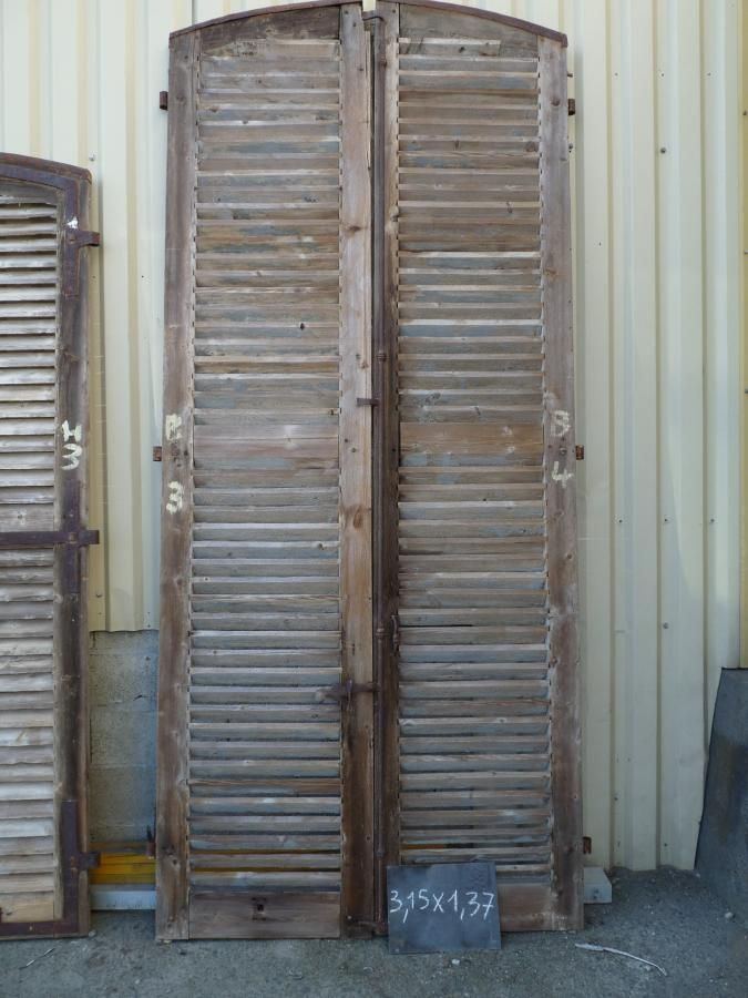 reclaimed shutters · Antique DoorsHollandFrench ... - I Want To Put Old Shutters In The Living Room! Where Can I Find