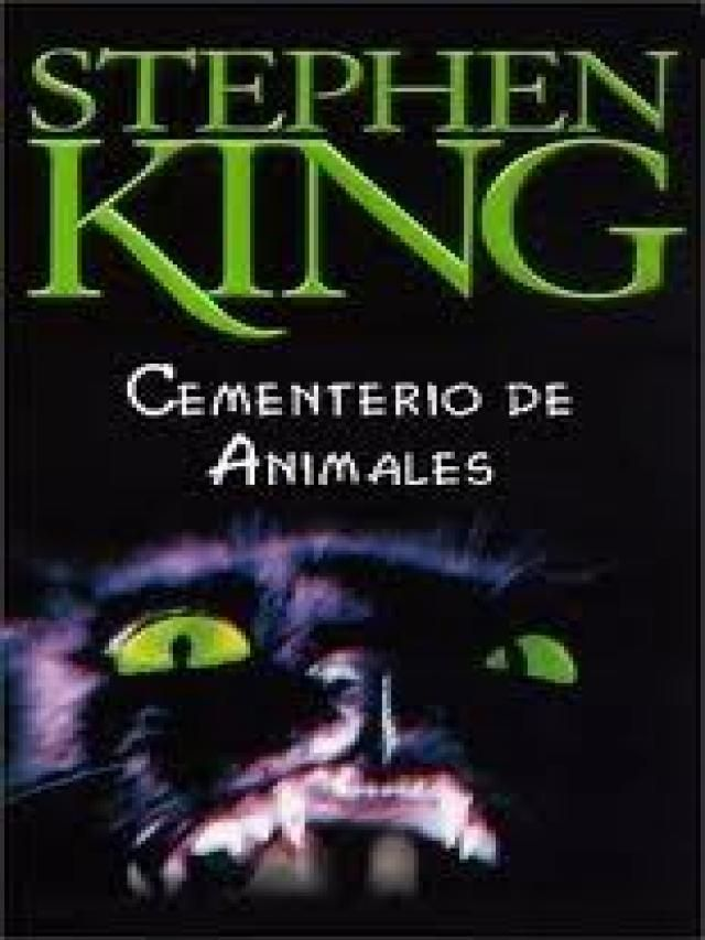 Libros De Stephen King Pet Sematary Scary Books Stephen King