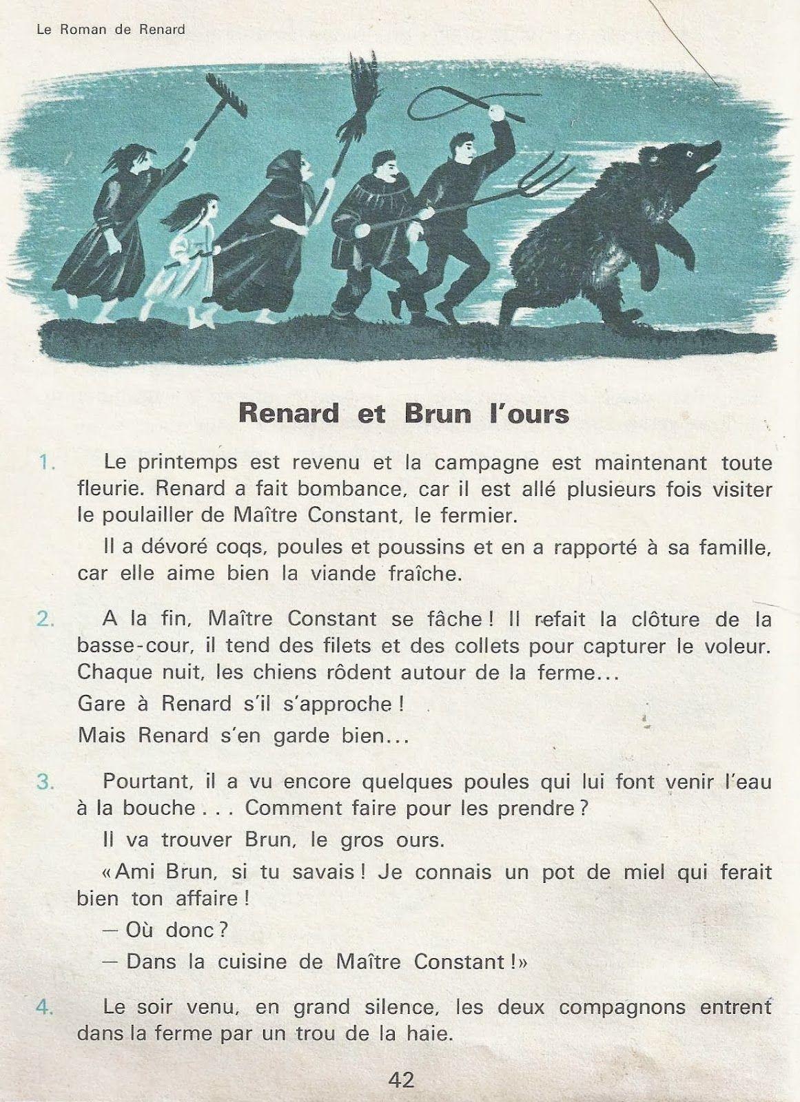 4 Aventures De Renard Le Roman De Renart