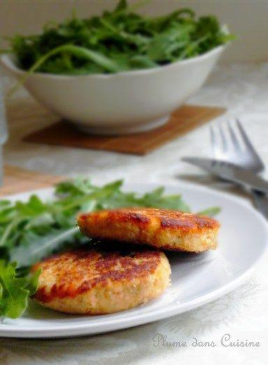 ...★★★... Galettes de saumon, et leur sauce concombre/citron