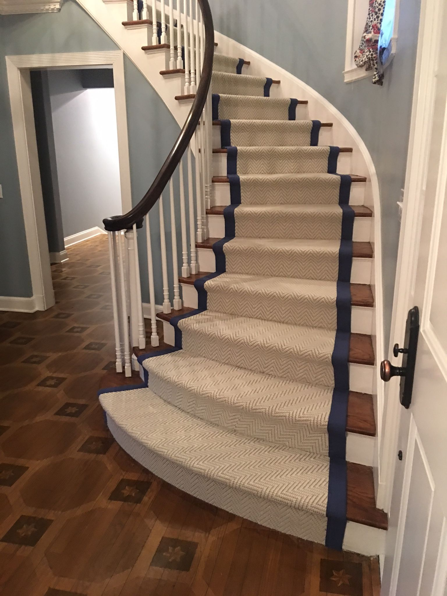 Best Our Latest Installation Custom Stair Runner For This 400 x 300