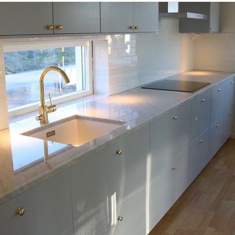 Two Tone Kitchen Cabinets Ikea: Kolla Fönster & Kakel Som Alternativ