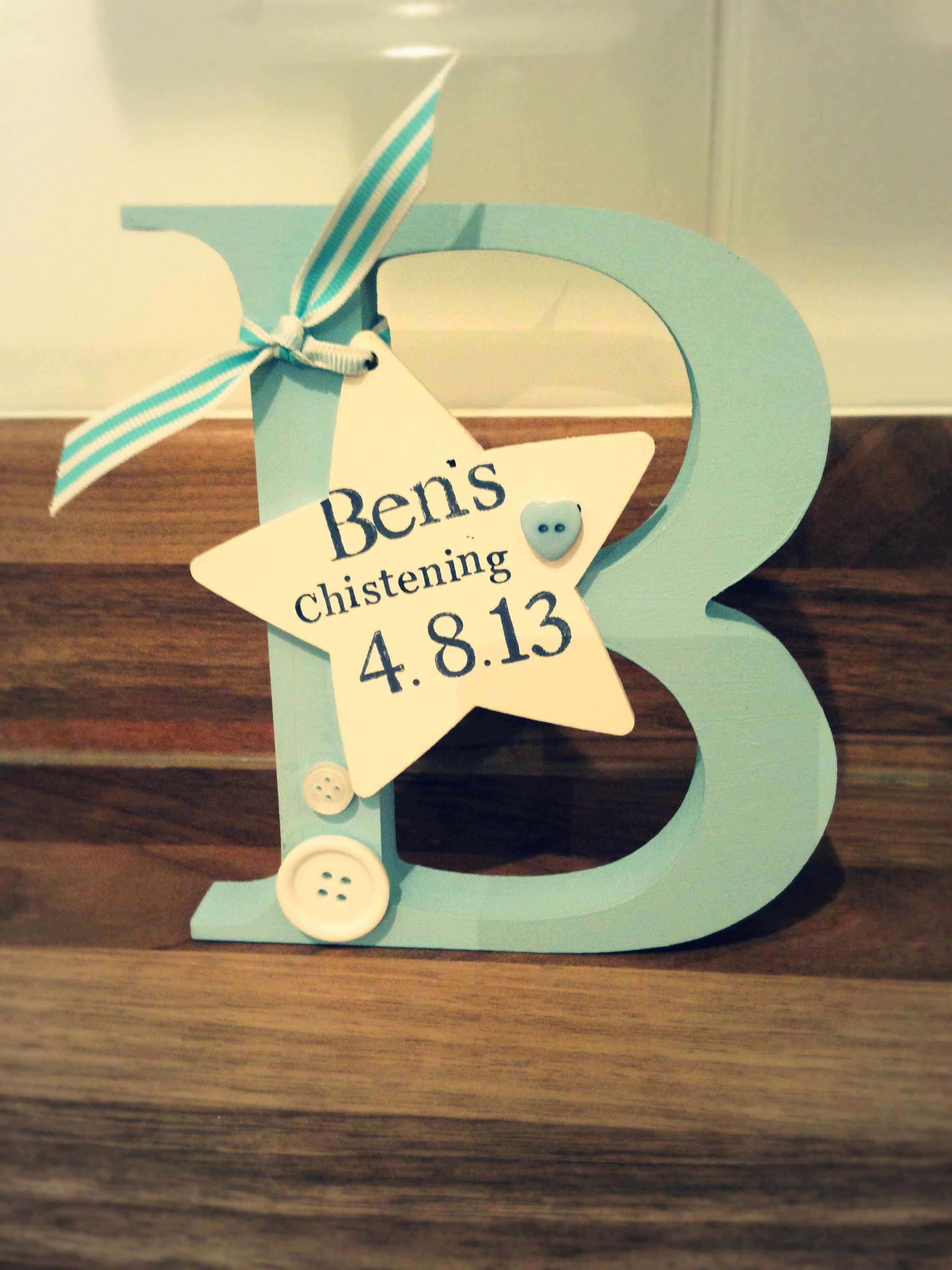 Free standing letter Made by Evie\'s Attic Find us on Facebook <3 ...