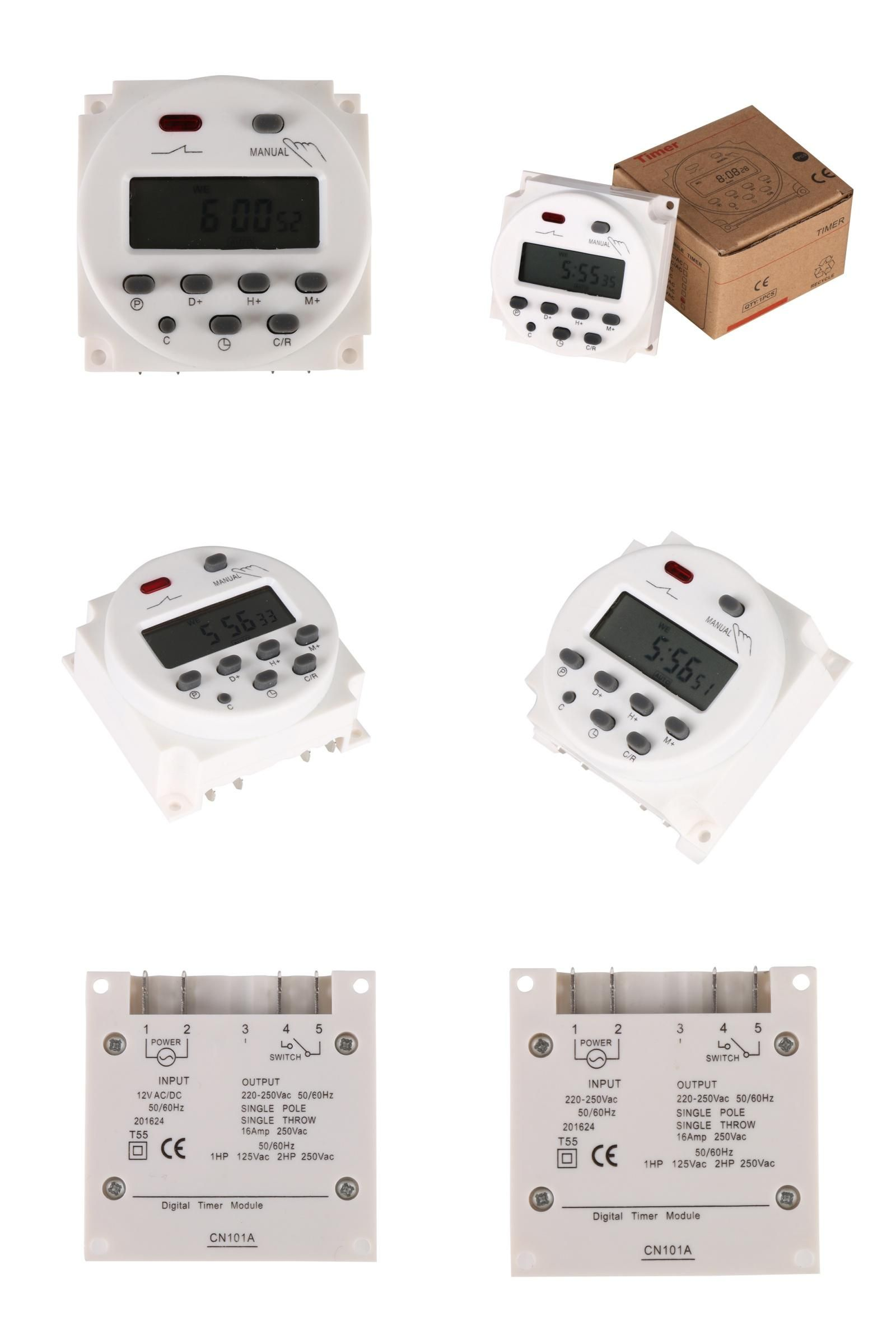 Visit To Buy Timer Cn101a Ac 12v 24v 110v 220v Digital Lcd Power Timer Programmable Time Switch Relay 16a Timers Timer Advertisement Timer Relay Digital