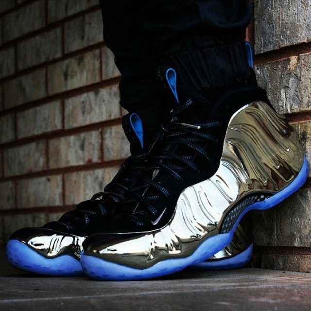 "timeless design bf272 133b7 thekicksonfire  ""Clean shot of the ""Mirror"" Foamposites that released  during All Star Weekend. How does everyone feel about this colorway  (Via   t jack10) """