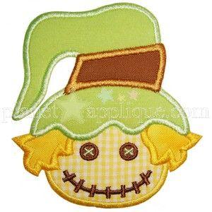 Scarecrow Applique