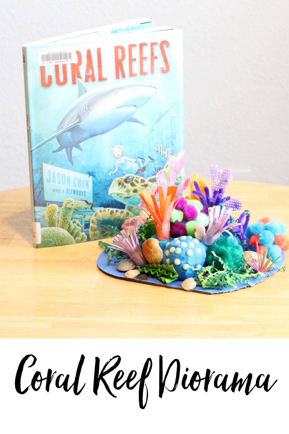 Coral Reef Lesson Build Your Own Diorama