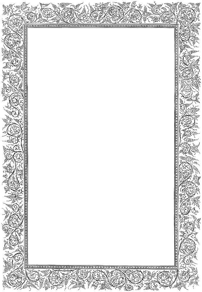 Light gray, ornate rectangular frame. | Graphics: Ads & Labels ...
