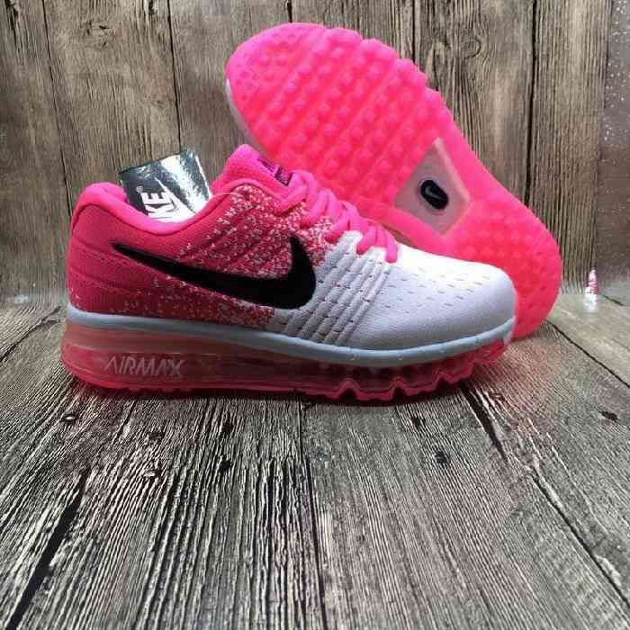 478493d6d38b6 Nike Air Max 2017 Netflix LUNARLUNCH Pink White Shoes(36-40) Nike Shoes