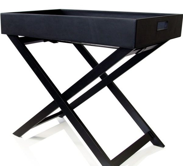 Delightful Look What I Have Bought From Hotel Luxury Collection: Leather Butlers Tray  Table