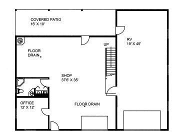 garage office plans. 1st Floor Plan Garage Office Plans