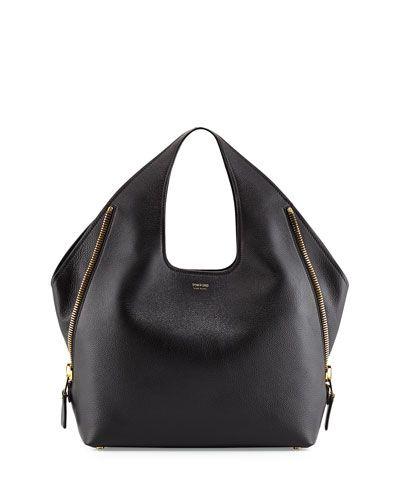 75a04e8f42 Tom Ford - Jennifer Side-Zip Leather Hobo Bag | Sacs | Pinterest ...