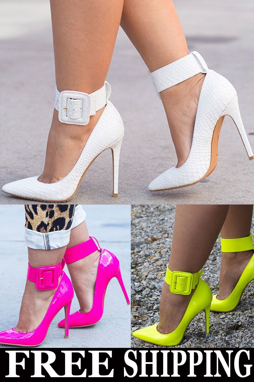 bc755ac01d 4 Colors for U! Beautiful Heels, Stiletto Heels, Shoes Heels, Makeup Tips