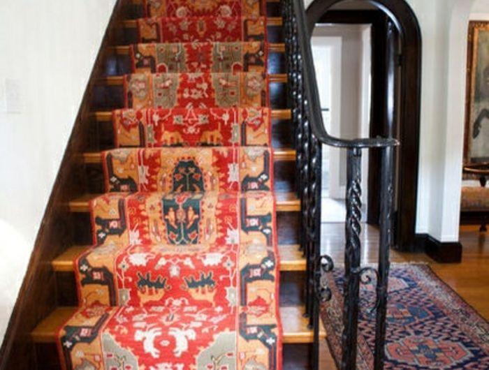 Le Tapis Pour Escalier En 52 Photos Inspirantes House