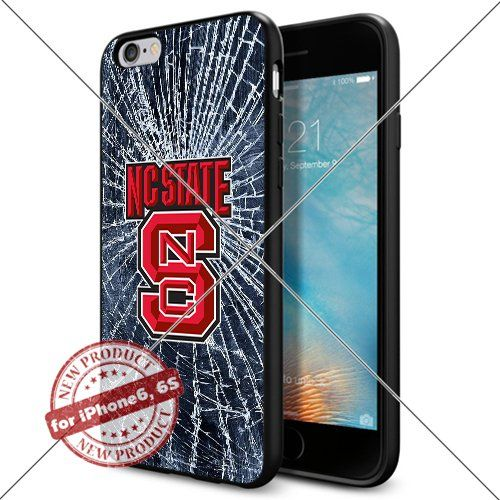 WADE CASE North Carolina State Wolfpack Logo NCAA Cool Apple iPhone6 6S Case #1381 Black Smartphone Case Cover Collector TPU Rubber [Break] WADE CASE http://www.amazon.com/dp/B017J7NXTQ/ref=cm_sw_r_pi_dp_xcmvwb1XKC0E7