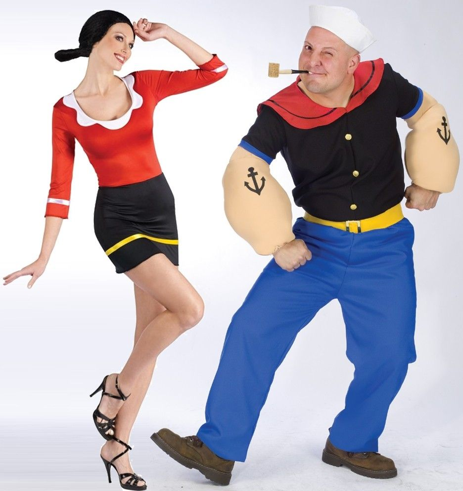 popeye olive oyl costume costumes pinterest popeye olive oyl costumes and usa party. Black Bedroom Furniture Sets. Home Design Ideas