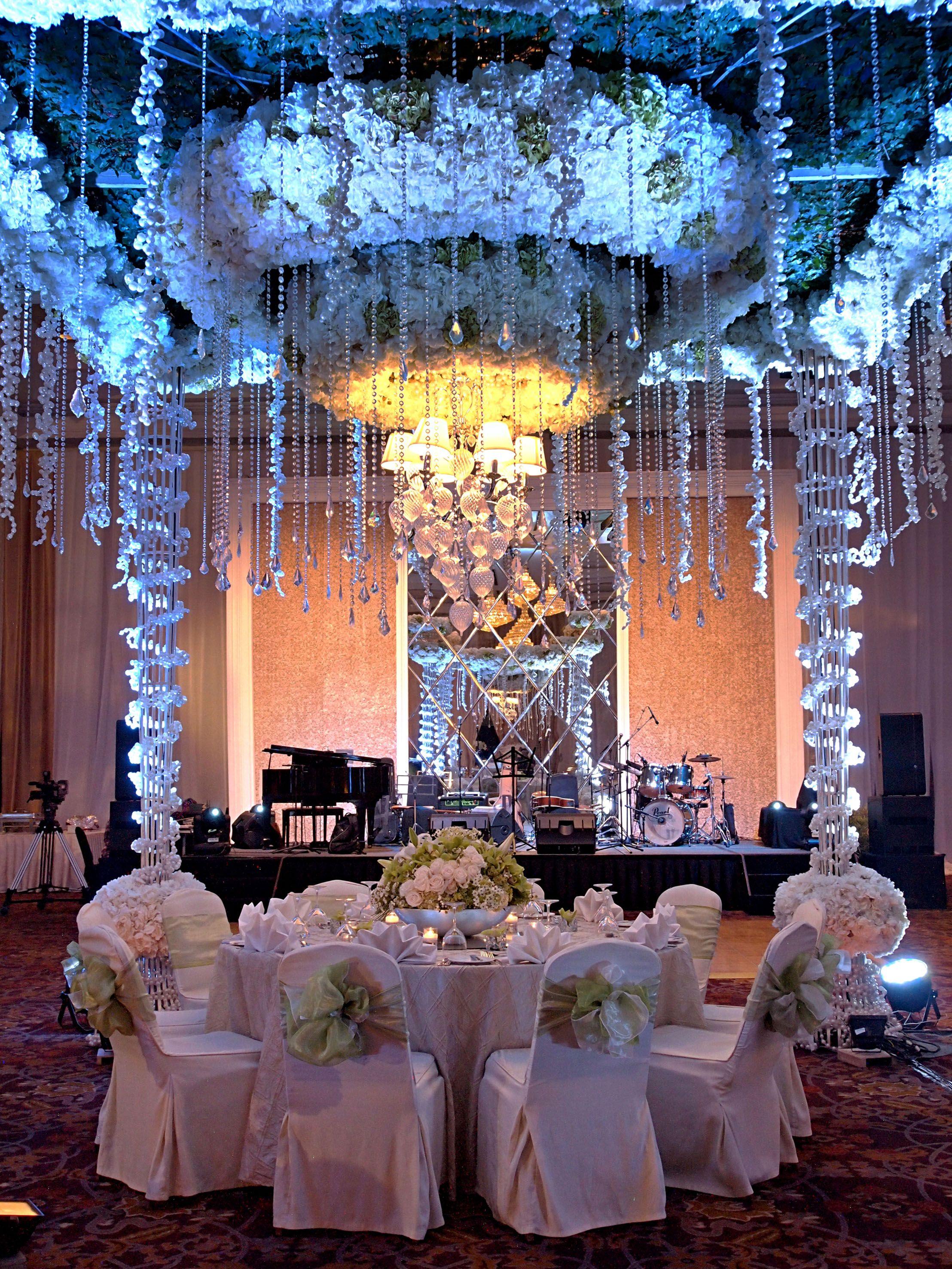 Ballroom Wedding Modern At Gran Melia Jakarta Jakarta Indonesia Ballroom Wedding Wedding Modern Hotel